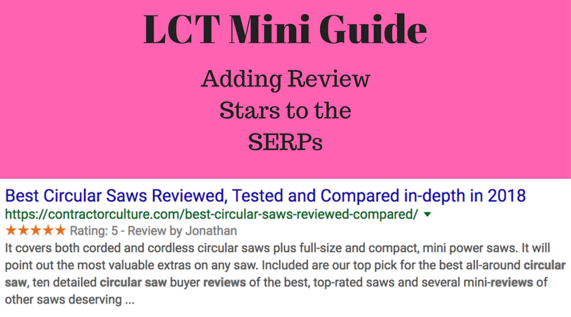 Local Mini Guide: Review Stars in the SERPs