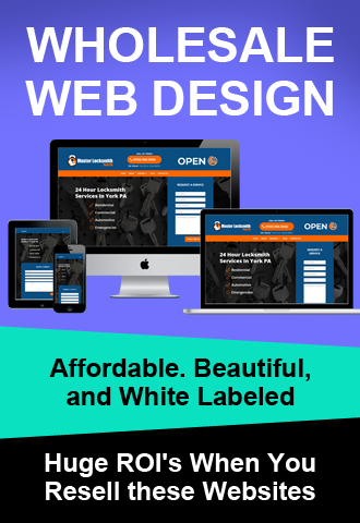 wholesale web design